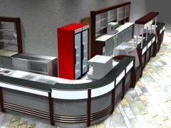 3d модели барных стоек